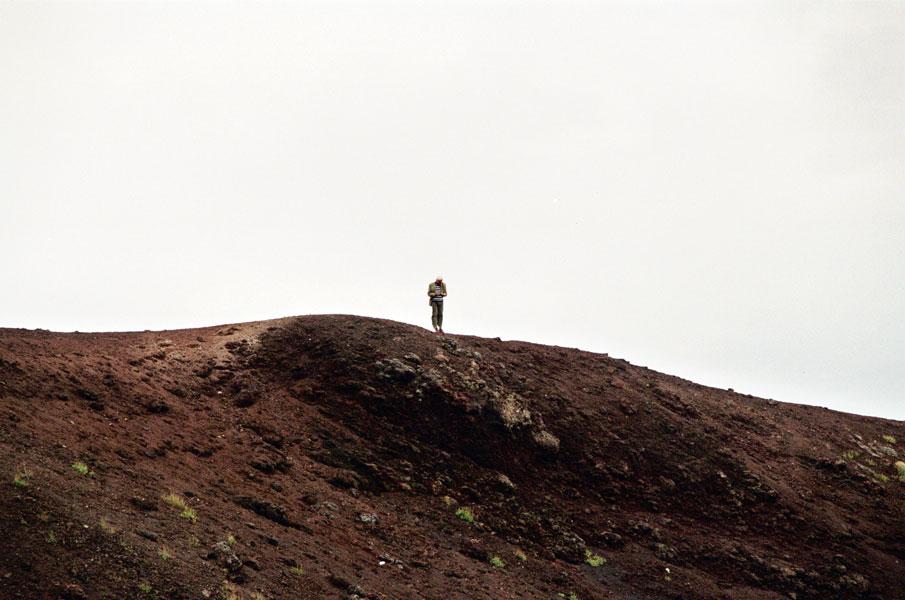 Etna, en Sicile, 2005.
